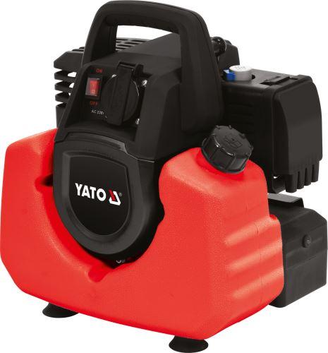 Yato Elektrocentrála - benzínový generátor 0,8kW YT-85481