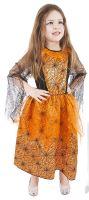 Dětský kostým Halloween oranžový (M) (8590687420236)