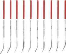 Yato Sada pilníků jehlových diamantových 3 x 140 mm 10 ks 30 mm YT-6146