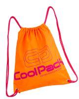 Coolpack taška pro sportovní obuv sprint neon orange cp93071