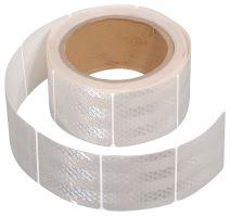 Samolepící páska reflexní dělená 5m x 5cm bílá (role 5m) 01548