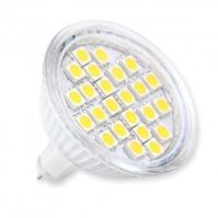 GTV LED žárovka LD-SZ2416-64 24 SMD 5050 MR16 4,5W DC12V 6400K