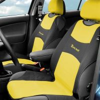 Compass Potah sedadla TRIKO přední 2ks žlutý 31634