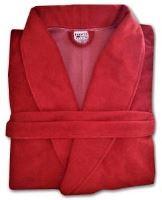 VERATEX Župan froté červený  (velikost S)