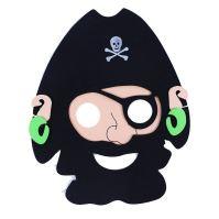 Maska pirátská 2 ks (8590687185647)