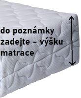 VERATEX Náhradní potah na matraci na míru - oboustranný polyester (dodání 8 až 11 dní)