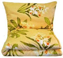 VERATEX Set polštáře a přikrývky - Bavlna (70x90 -140x200) (509 oranž) (celoroční)