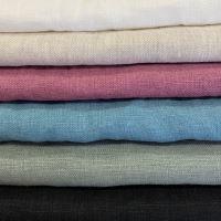 Aesthetic Lněná plážová deka, osuška - 100% len Rozměr: 150x200 cm, Barva: černá