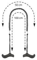 Cattara Pila řetězová ruční 100cm 13739
