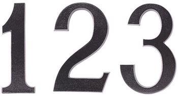 Číslice 19 cm - PCV