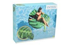 Nafukovací lehátko INTEX 58782 - Palmový list (213x142cm) - 6941057413402