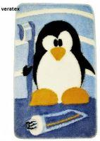 VERATEX Koupelnová předložka LUX tučňák 60x100 cm