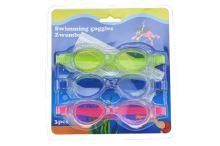 Sada dětských plaveckých brýlí - 3ks - 8719202541199