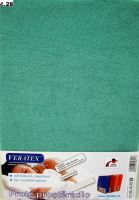 VERATEX Froté prostěradlo 160x220 cm (č.28-tm.zelená)