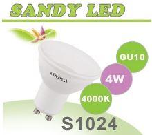 SANDRIA LED žárovka GU10 S1024 SANDY LED GU10 4W SMD 4000K