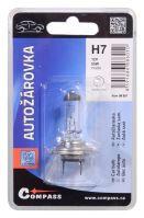 Compass Žárovka 12V  H7  55W PX26d blister 1ks 08601