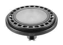 GTV  LD-ES11101-30 Světelný zdroj LED. ES111, GU10 12W, 12xPOWER LED, 3000