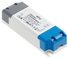 GTV LED trafo LD-ZASPRO16W-30 LED trafo AC220-240/DC12V, 16W ,  IP20