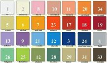 VERATEX Froté povlak na polštář 70x90cm (výběr barev foto)