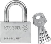Vorel Zámek visací stavební 50 mm 4 klíče TO-77005