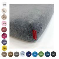 Aesthetic Prostěradlo mikroplyšové - do dětské postýlky - 60x120 cm - mix barev Barva: 327 růžová střední
