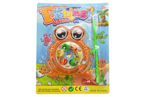 Dětská hra šikovný rybář GAZELO žabička