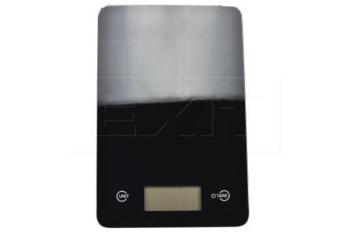 Skleněná kuchyňská digitální váha EH (23x15cm) do 5kg