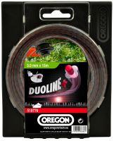 Oregon Bezhlučná žací struna 1,6 mm x 15 m - DUOLINE PLUS (539161)