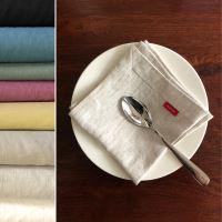 Aesthetic Lněný jídelní ubrousek - mix barev - 100% len, gramáž 245g/m2 Barva: Sand