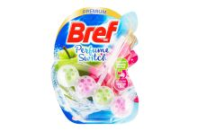 Bref Perfume Switch tuhý WC blok 50g - Green Apple , Water Lily  - 9000101329278