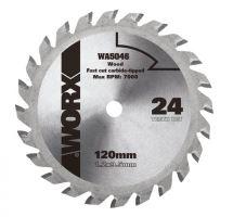 WA5046 - Kotouč na dřevo 120x9,5 pro WU427, Worxsaw XL