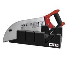 Yato Pila na řezání úhlů 350 mm s přípravkem YT-3150