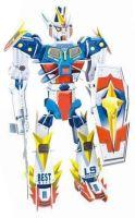 3D puzzle skládačka Transformer robot