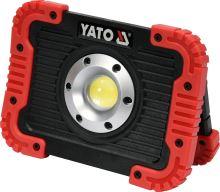 Yato Nabíjecí COB LED 10W svítilna a powerbanka YT-81820