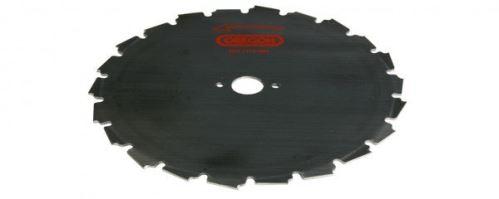 Oregon Ocelový nůž pro křovinořezy EIA - 24-zubý  x 225mm x 1,8mm, středový otvor 20mm (110978)