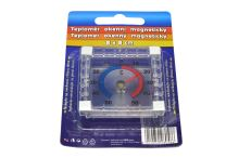 Okenní magnetický teploměr (8x8cm) - 8019050280586