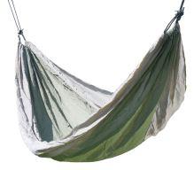 Cattara Houpací síť NYLON 275x137cm zeleno-hnědá 13565