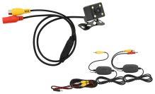 Compass Parkovací kamera DICE bezdrátová polohovací s LED přísvitem 33594