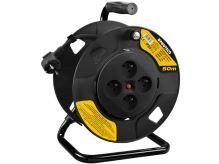 PROTECO - 42.18-KAB050-4C - kabel prodlužovací na cívce 50 m  průřez 1,5mm2