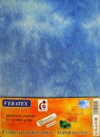 VERATEX Froté prostěradlo na masážní lůžko 60x190 lehátko modrá batika