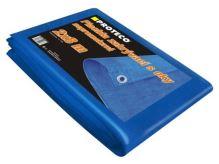 PROTECO - 10.88-P-2-8 - plachta  2x8 m  nepromokavá s oky modrá 50g/m2