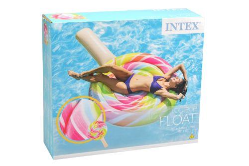 Nafukovací lehátko INTEX 58753 - Lízátko (208x135cm) - 6941057407555