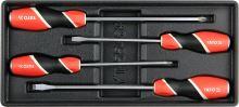Yato Vložka do zásuvky - sada šroubováků s úderným koncem, 4ks YT-55469