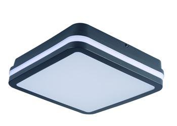 Kanlux Stropní LED svítidlo s čidlem 32947 BENO 18W NW-L-SE GR grafit + čidlo