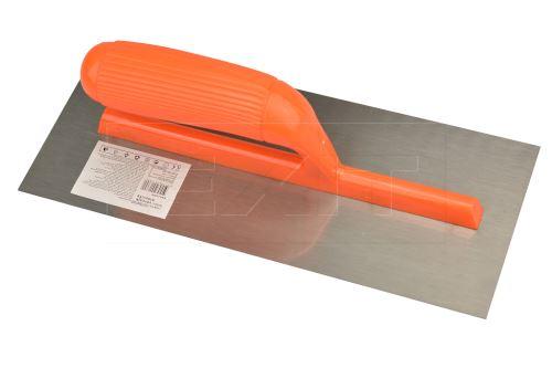 Zednické hladítko s plastovým držákem (28x12cm) - 8657988013892