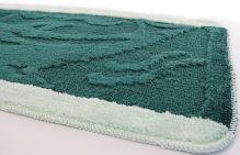 VERATEX Koupelnová předložka 50x80 cm (zelený proužek)
