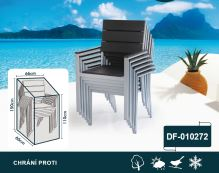 DIMENZA a.s. Ochranný obal na nábytek Typ obalu: Stohovatelné židle - DF-010272