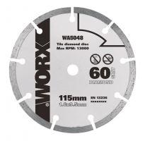 WA5048 - Diamantový kotouč 115 x 9,5  pro WU427, Worxsaw XL