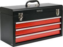 Yato Skříňka na nářadí,  3x zásuvka YT-08873