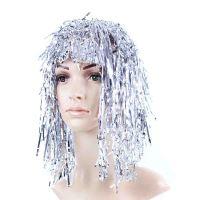 Paruka stříbrná pro dospělé (8590687170322)
